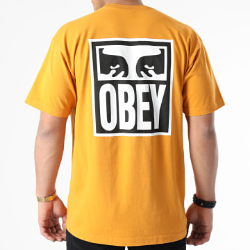 Obey - Tee Shirt Eyes Icon 2 Orange