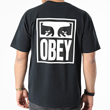 Obey - Tee Shirt Eyes Icon 2 Noir