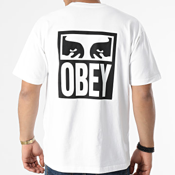 Obey - Tee Shirt Eyes Icon 2 Blanc