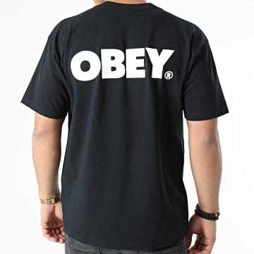 Obey - Tee Shirt Bold Noir