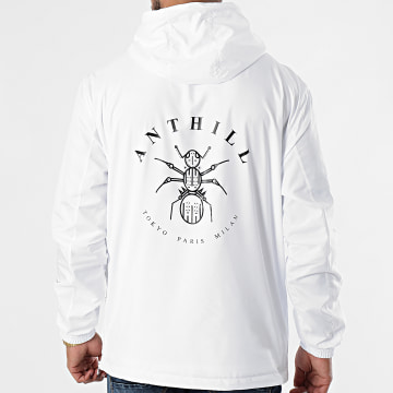 Anthill - Coupe-Vent Logo Blanc
