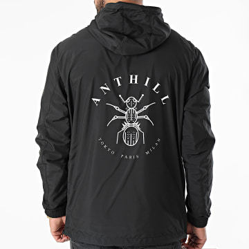 Anthill - Coupe-Vent Logo Noir