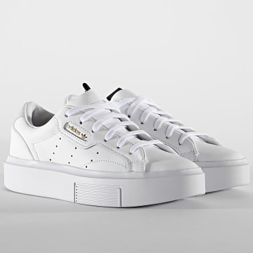 Adidas Originals - Baskets Femme Sleek Super EF8858 Footwear White Cryo White Core Black