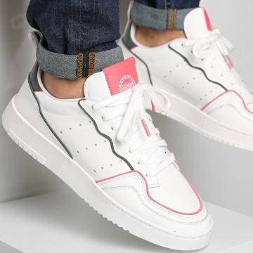 Adidas Originals - Baskets Supercourt FX5703 Cloud White Hazy Rose