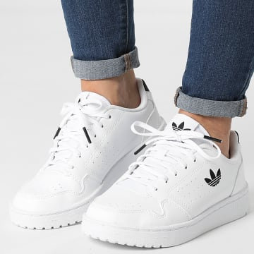 Adidas Originals - Baskets Femme NY 90 FY9840 Footwear White Core Black