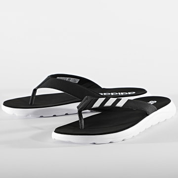 adidas - Tongs Comfort EG2069 Core Black Cloud White