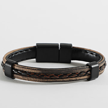 Black Needle - Bracelet BBN-306 Marron