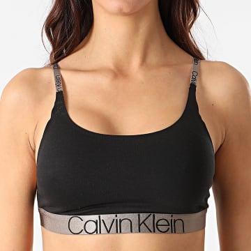 Calvin Klein - Brassière Femme Unlined 6248E Noir Marron