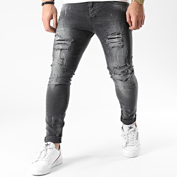 Classic Series - Jean Skinny DHZ-3282-1 Gris Anthracite