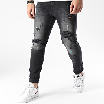 Classic Series - Jean Skinny DHZ-3256 Gris Anthracite