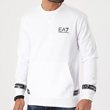 EA7 Emporio Armani - Sweat Crewneck 3KPM22-PJ05Z Blanc
