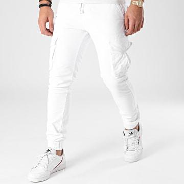 John H - Jogger Pant XQ05 Blanc