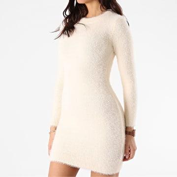 Sixth June - Robe Pull Femme W32560KDR Beige