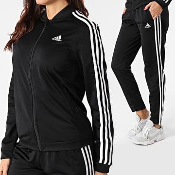 Adidas Performance - Ensemble De Survêtement Femme 3 Stripes Training GM5534 Noir