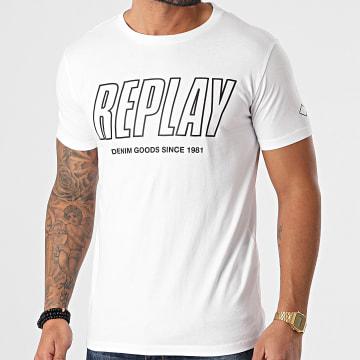 Replay - Tee Shirt M3395 Blanc