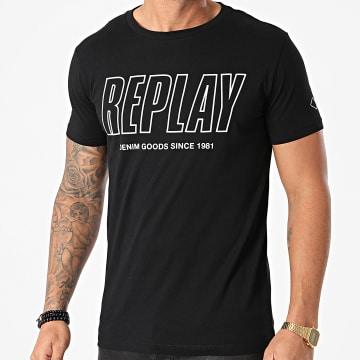 Replay - Tee Shirt M3395 Noir
