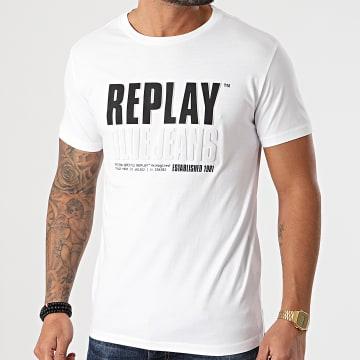 Replay - Tee Shirt M3413 Blanc