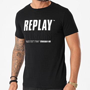 Replay - Tee Shirt M3413 Noir