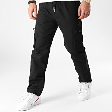 Sixth June - Pantalon Cargo M4039CPA Noir