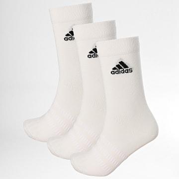 Adidas Performance - Lot De 3 Paires De Chaussettes DZ9393 Blanc