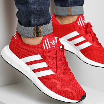 Adidas Originals - Baskets Swift Run X FY2113 Scarlet Footwear White Core Black