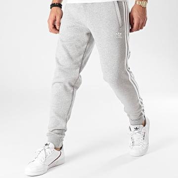 adidas - Pantalon Jogging A Bandes GN3530 Gris Chiné