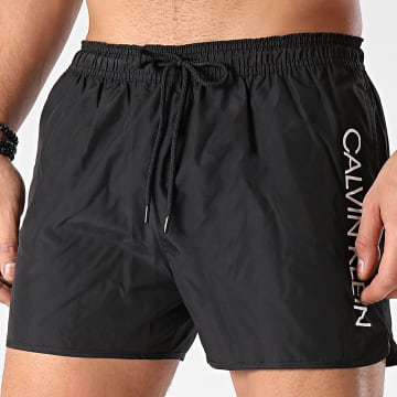 Calvin Klein - Short De Bain Short Runner 0266 Noir
