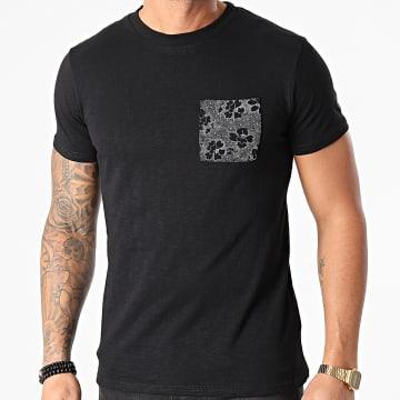 Le Temps Des Cerises - Tee Shirt Poche Pilas Noir