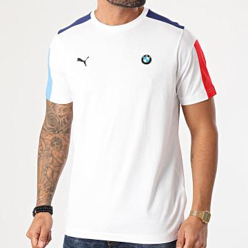 Puma - Tee Shirt BMW M Motorsport T7 Blanc