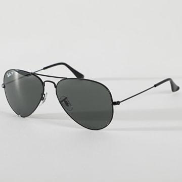 Ray-Ban - Lunettes De Soleil Aviator Classic 3025 Noir