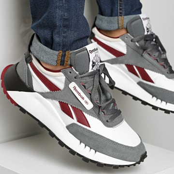 Reebok - Baskets Classic Leather Legacy FY7748 Cold Grey 6 Cloud White Matte Silver