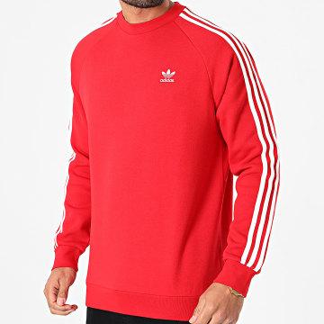 Adidas Originals - Sweat Crewneck A Bandes GN3484 Rouge