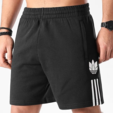 Adidas Originals - Short Jogging A Bandes GN5508 Noir