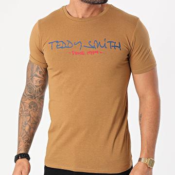 Teddy Smith - Tee Shirt Ticlass Basic Maron