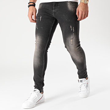 2Y Premium - Jean Skinny B5678 Noir