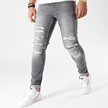 2Y Premium - Jean Skinny B5656 Gris