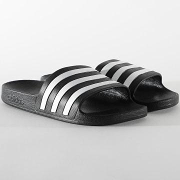 Adidas Performance - Claquettes Adilette Aqua F35543 Core Black Footwear White