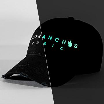 Affranchis Music - Casquette Affranchis Noir Phosphorescent