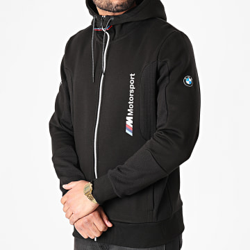Puma - Sweat Capuche Zippé BMW M Motorsport Noir