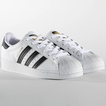 Adidas Originals - Baskets Femme Superstar FU7712 Footwear White Core Black