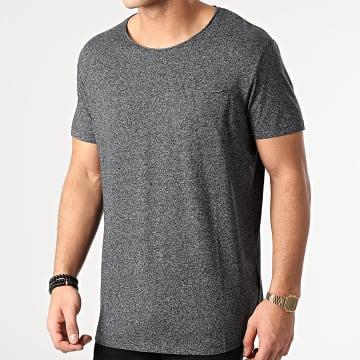 Esprit - Tee Shirt Poche 990CC2K306 Noir Chiné