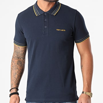 Teddy Smith - Polo Manches Courtes Pasian Bleu Marine