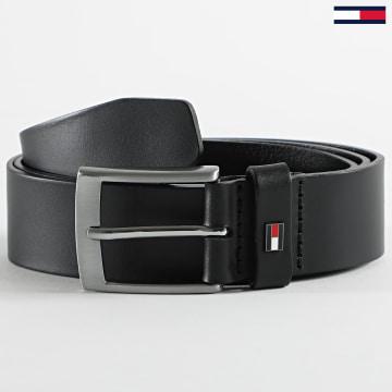 Tommy Hilfiger - Ceinture Adan Leather 6600 Noir