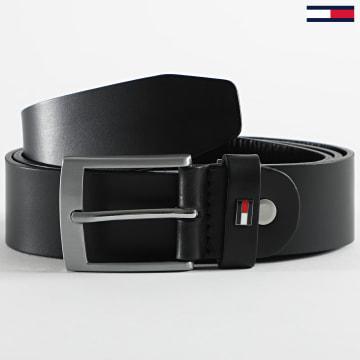 Tommy Hilfiger - Ceinture Adan Leather Adjustable 6616 Noir