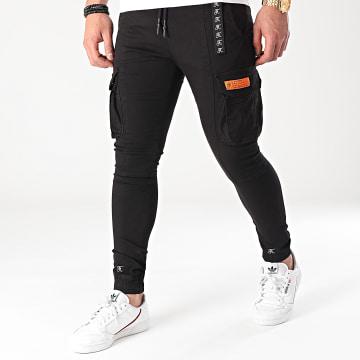 Final Club - Jogger Pant Cargo Skinny 536 Noir