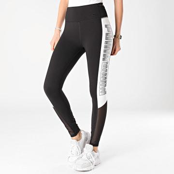Puma - Legging Femme 520290 Noir Blanc
