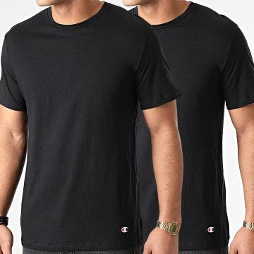 Champion - Lot De 2 Tee Shirts Y09G5 Noir