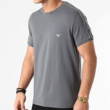 Emporio Armani - Tee Shirt A Bandes 111890-1P717 Gris Souris