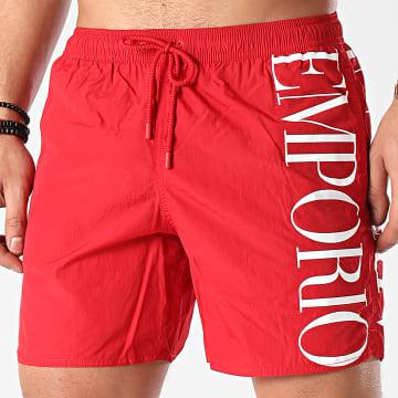 Emporio Armani - Short De Bain 211740-1P414 Rouge