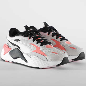 Puma - Baskets Femme RS-X3 Twill AirMesh 368845 Nimbus Cloud Georgia Peach